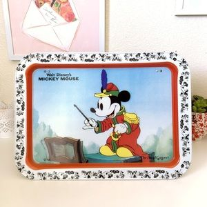 Walt Disney Mickey Mouse The Band Concert Tin Tray